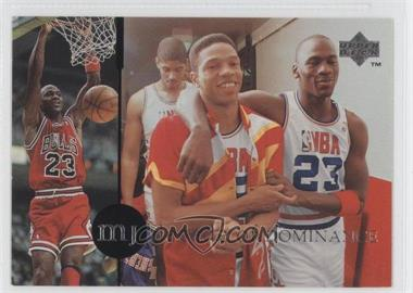 1994-95 Upper Deck Collector's Choice International - MJ Decade of Dominance - Spanish #J4 - Michael Jordan