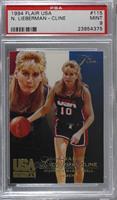 Women's Basketball Legend - Nancy Lieberman-Cline [PSA9MINT]