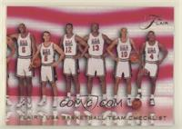Checklist - USA Basketball Team