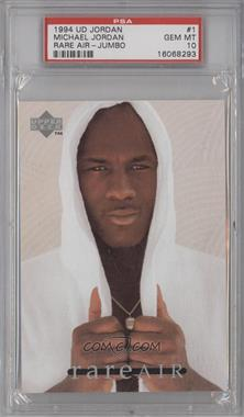 1994 Upper Deck Michael Jordan Rare Air Tribute Set - [Base] #1 - Michael Jordan [PSA 10]