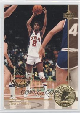 1994 Upper Deck USA Basketball - [Base] - Gold Medal #89 - Cheryl Miller