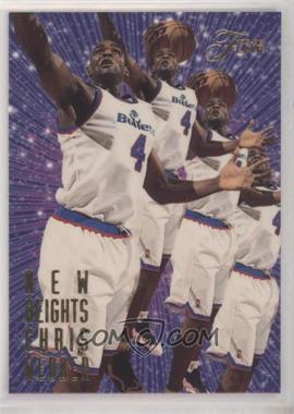 1995-96 Flair - New Heights #10 - Chris Webber