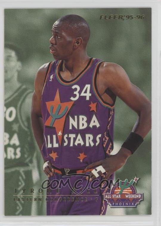 new style a9f2b 2b7ba 1995-96 Fleer - All-Star Weekend Phoenix #7 - Tyrone Hill ...