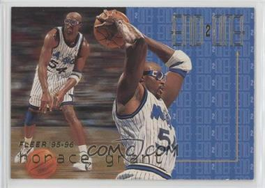 1995-96 Fleer - End 2 End #5 - Horace Grant