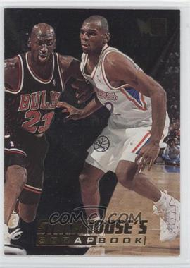 1995-96 Fleer Metal - Stackhouse's Scrapbook #S-7 - Jerry Stackhouse