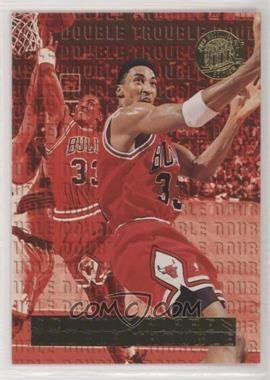 1995-96 Fleer Ultra - Double Trouble - Gold Medallion Edition #8 - Scottie Pippen