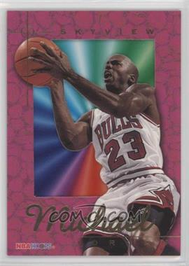 1995-96 NBA Hoops - Skyview #SV1 - Michael Jordan