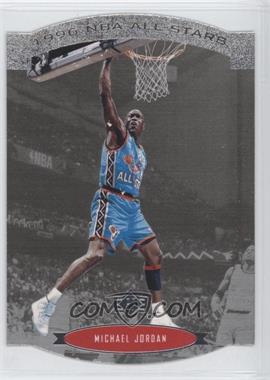 1995-96 SP - NBA All-Stars Die-Cut #AS2 - Michael Jordan
