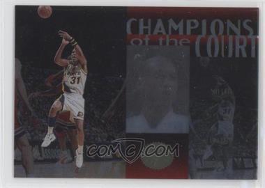 1995-96 SP Championship Series - Champions of the Court #C11 - Reggie Miller [GoodtoVG‑EX]