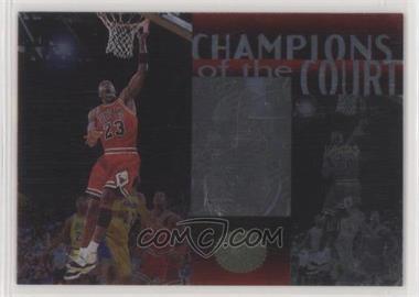 1995-96 SP Championship Series - Champions of the Court #C30 - Michael Jordan