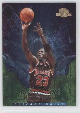 1995-96 Skybox Premium - Meltdown #M1 - Michael Jordan