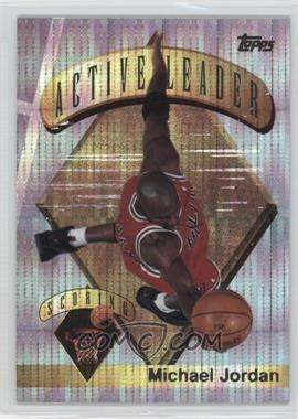 1995-96 Topps - Mystery Finest - Power Boosters #1 - Michael Jordan