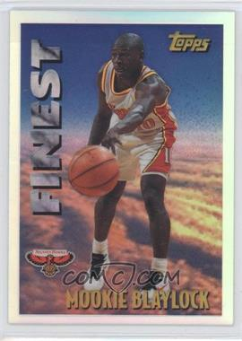 1995-96 Topps - Mystery Finest - Refractor #M 9 - Mookie Blaylock