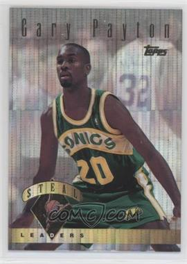 1995-96 Topps - Power Boosters #23 - Gary Payton