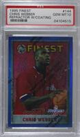 Chris Webber [PSA 10 GEM MT]