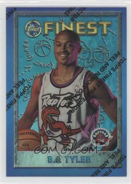 1995-96 Topps Finest - [Base] - Refractor #202 - B.J. Tyler