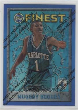 1995-96 Topps Finest - [Base] - Refractor #82 - Muggsy Bogues