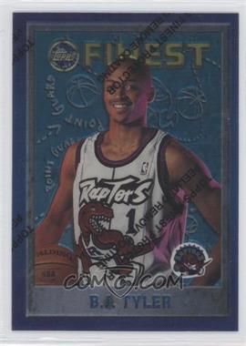 1995-96 Topps Finest - [Base] #202 - B.J. Tyler