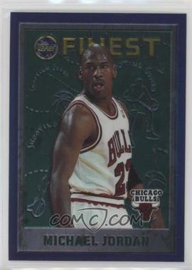 1995-96 Topps Finest - [Base] #229 - Michael Jordan