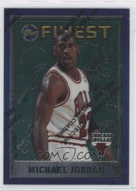 1995-96 Topps Finest - [Base] #229 - Michael Jordan