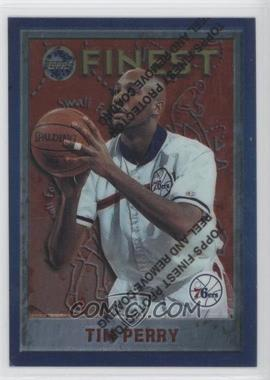 1995-96 Topps Finest - [Base] #79 - Tim Perry