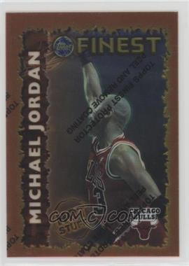 1995-96 Topps Finest - Hot Stuff #HS 1 - Michael Jordan
