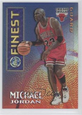 1995-96 Topps Finest - Mystery Finest - Borderless Refractor/Gold #M 1 - Michael Jordan