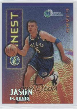 1995-96 Topps Finest - Mystery Finest - Borderless Refractor/Gold #M 9 - Jason Kidd