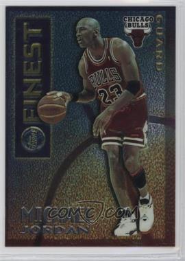 1995-96 Topps Finest - Mystery Finest - Borderless/Silver #M 1 - Michael Jordan