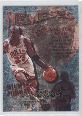 1995-96 Topps Stadium Club - Nemeses - Members Only #N10 - Michael Jordan, Joe Dumars