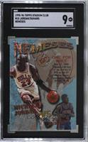 Michael Jordan, Joe Dumars [SGC 96 MINT 9]