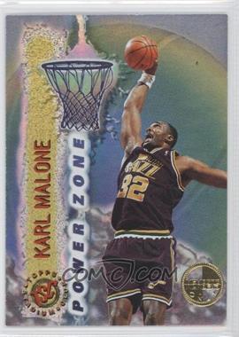 1995-96 Topps Stadium Club - Power Zone - Members Only #PZ4 - Karl Malone