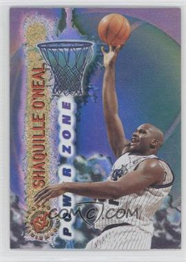 1995-96 Topps Stadium Club - Power Zone #PZ1 - Shaquille O'Neal