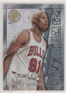 1995-96 Topps Stadium Club - Power Zone #PZ10 - Dennis Rodman