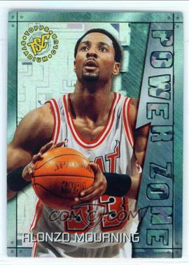 1995-96 Topps Stadium Club - Power Zone #PZ11 - Alonzo Mourning