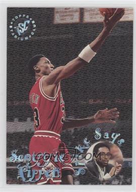 1995-96 Topps Stadium Club - Spike Says #SS7 - Scottie Pippen [EXtoNM]