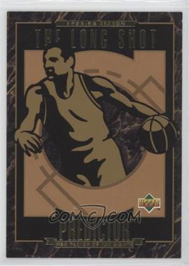 1995-96 Upper Deck - Redemption Predictor MVP #R10 - The Long Shot [EXtoNM]