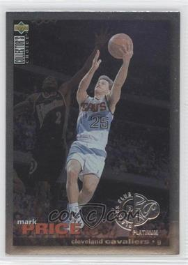 1995-96 Upper Deck Collector's Choice - [Base] - Platinum Player's Club #125 - Mark Price