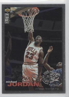 1995-96 Upper Deck Collector's Choice - [Base] - Platinum Player's Club #45 - Michael Jordan