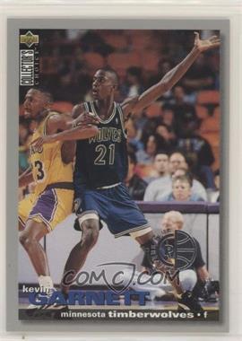 1995-96 Upper Deck Collector's Choice - [Base] - Player's Club #275 - Kevin Garnett