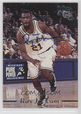 1995 Classic Rookies - Autographs - [Autographed] #RAJA - Ray Jackson /3430