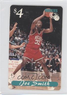 1995 Classic Rookies - Phone Cards $4 #N/A - Joe Smith /6334