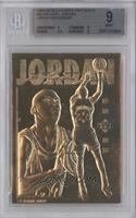 Michael Jordan (Double Image Baseball and Basketball Back) [BGS9MIN…