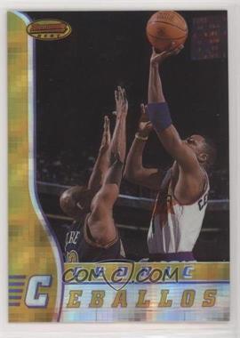 1996-97 Bowman's Best - [Base] - Atomic Refractor #37 - Cedric Ceballos [EXtoNM]