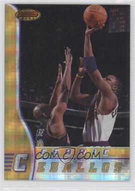 1996-97 Bowman's Best - [Base] - Atomic Refractor #37 - Cedric Ceballos