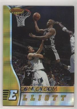 1996-97 Bowman's Best - [Base] - Atomic Refractor #60 - Sean Elliott