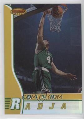 1996-97 Bowman's Best - [Base] - Refractor #4 - Dino Radja