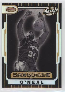 1996-97 Bowman's Best - Retro - Refractor #TB8 - Shaquille O'Neal