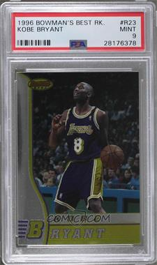1996-97 Bowman's Best - Rookies #R23 - Kobe Bryant [PSA9]