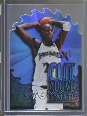 1996-97 EX2000 - A Cut Above #1 - Kevin Garnett
